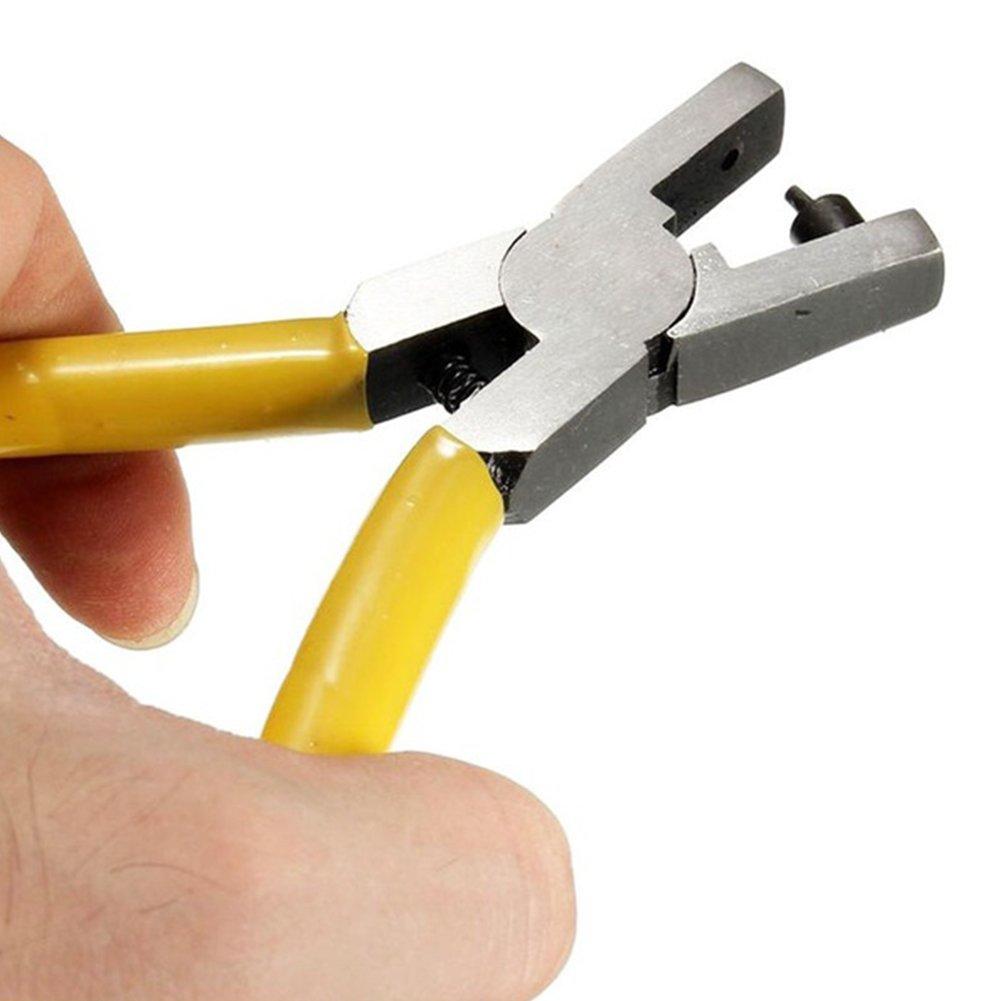 Alicates de cuero redondo universal para correa de reloj, perforador, herramienta de joyería, 2 mm, 120 g: Amazon.es: Bricolaje y herramientas