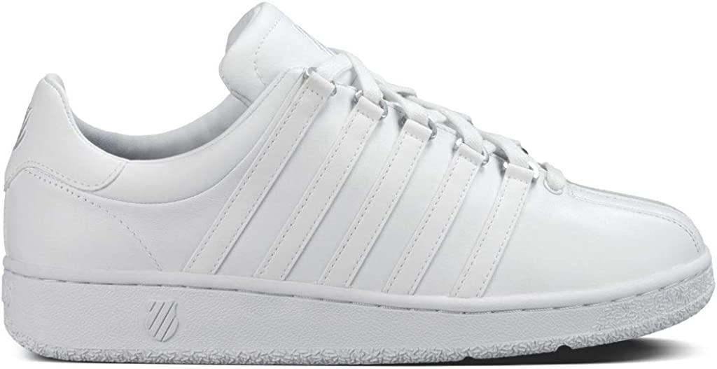 Vintage Sneakers for Men and Women K-Swiss Womens Classic VN Iconic Fashion Sneaker $35.98 AT vintagedancer.com