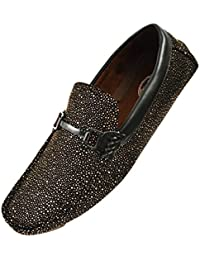bfcbb29e206 Amazon.com  Gold - Loafers   Slip-Ons   Shoes  Clothing