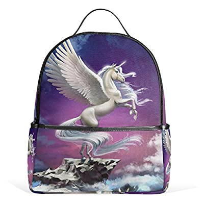 484fc69e8a25 JSTEL Unicorn School Backpack 4th 5th 6th Grade for Boys Teen Girls Kids  best