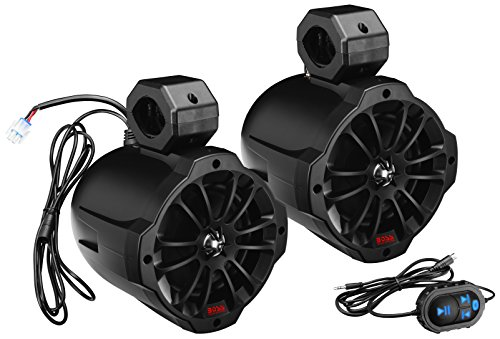 BOSS Audio B62ABT Amplified Wakertower Speakers - Bluetooth, 6.5