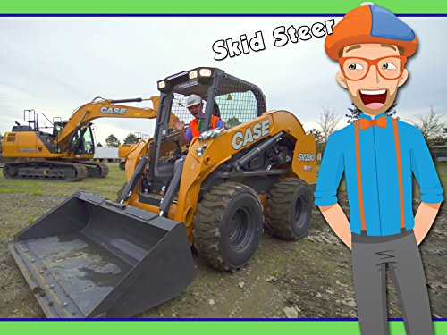 Skid Steer with Blippi