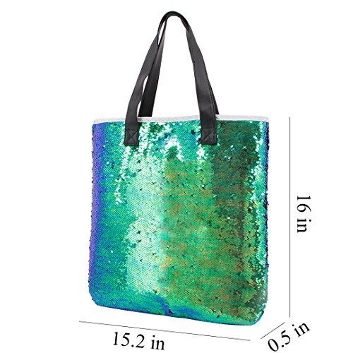 Green Novias roi Pochette Boutique femme bleu pour wpwOrqY