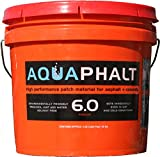 Aquaphalt Not Available 6.0 Permanent Repair, 3.5 Gallon, Black