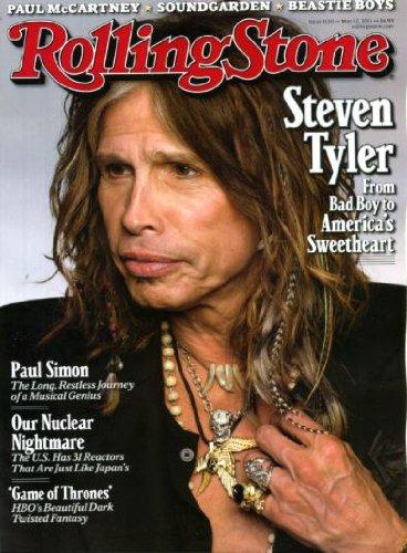 Rolling Stone May 12 2011 Steven Tyler (Aerosmith, American Idol) on Cover, Paul Simon, Game of Thrones, Linda McCartney Photos by Paul ()