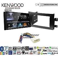 Volunteer Audio Kenwood DDX9704S Double Din Radio Install Kit with Apple Carplay Android Auto Fits 2007-2013 Suzuki SX4