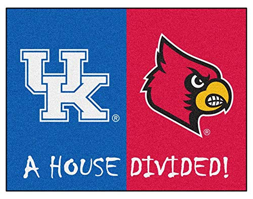 (Fanmats Officially Licensed House Divided Mat)
