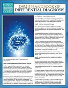 dsm 5 handbook of differential diagnosis citation