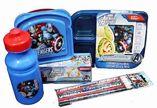 Marvel Avengers 5-Piece Lunch Kit