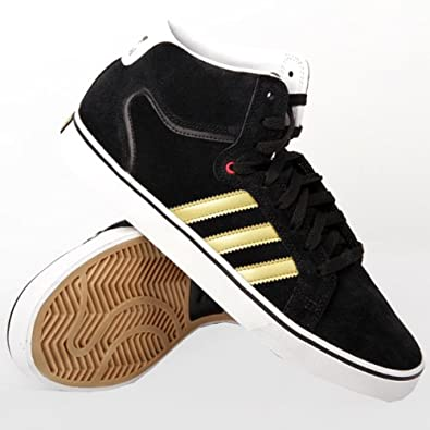 Adidas Superskate Vulc LV Mid ST Black 43: Amazon.co.uk
