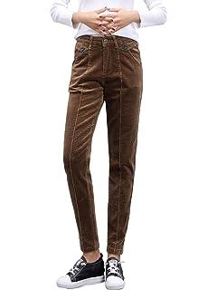 50cd055f56b24 Eddie Bauer Pantalon Cargo Pantalon Velours Femme - Marron, 16 (46 ...