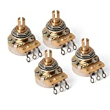 Emerson Pro CTS Pots, Split shaft, 250K-ohm - 4 pack