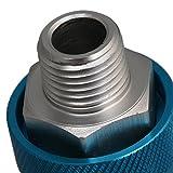 """CNBTR Aluminum HSV-08 1/4"""""""" Thread Pneumatic Flow"""