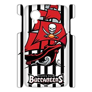 MMHDiy Funny Tampa Bay Buccaneers Case Cover for Google Nexus 5