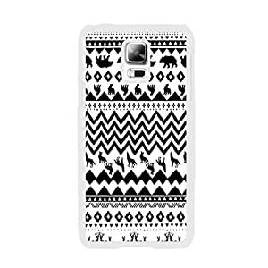 Samsung Phone Cases - Animal Patterned Design Cute Samsung Galaxy S5 I9600 Hard Plastic Case Back Skin Protector (chevron dog BY517)
