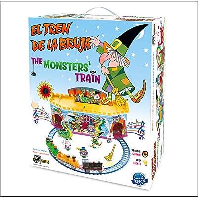 PEQUETREN- RF.2000 EL EL Tren DE LA Bruja, Color Via Azul (2000): Juguetes y juegos