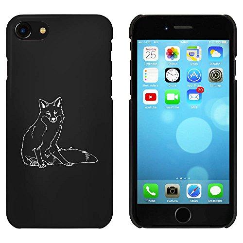 Noir 'Assis Renard' étui / housse pour iPhone 7 (MC00077467)