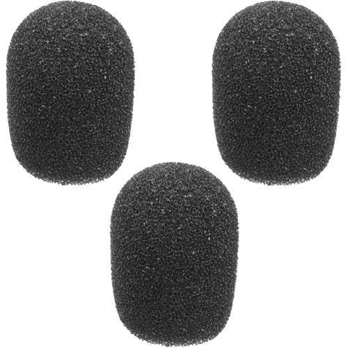 "UPC 847628016194, Pearstone Foam Windscreens for 1/4"" Diameter Microphones (3 Pack, Black)"