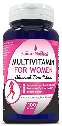 Sonora Nutrition Multivitamin For Women Advanced Time Release  100 Capsules