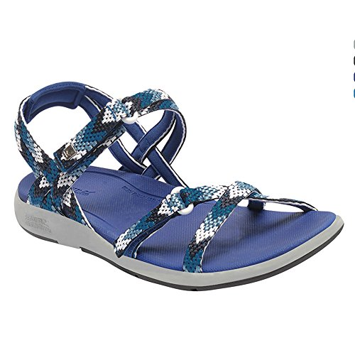 Regatta Womens/Ladies Santa Monica Lightweight Walking Sandals Deep Ultramarine