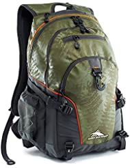 High Sierra Loop Backpack Moss Treads/Mercury
