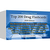 PharmacyTrainer Top 200 Drugs Flashcards - 2020 edition