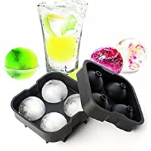 Hot Sale Whiskey Ice Cube Ball Maker Mold Sphere Mould Party Tray Round Bar Silicone
