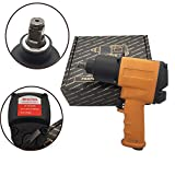 GHP 1/2'' Drive 1/4'' NPT 7CFM 8000RPM 90PSI Steel & Aluminum Air Impact Wrench Gun