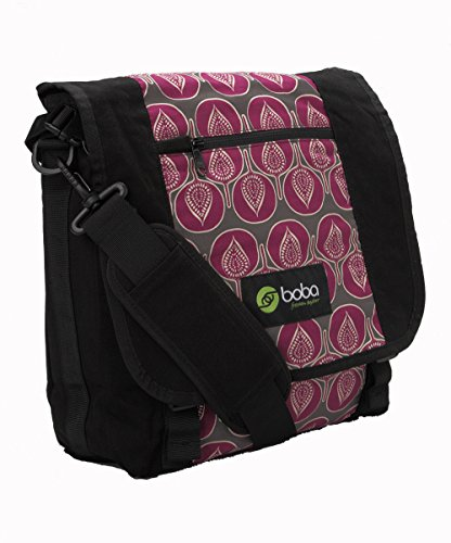 Boba Pack Shoulder Style Diaper Bag Can Attach to New Boba 3g and 4g Carriers Lila
