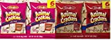 Stauffer's Original Animal Crackers 9 Oz (6-1.5 Oz Bags) and Iced Animal Cookies 10.5 Oz (6-1.75 Oz Bags)