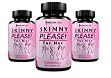 Skinny Please! Best Fat Burner for Women | Targets Stubborn Fat & Increases Energy Levels | Natural Weight Loss Supplement | 60 Capsules