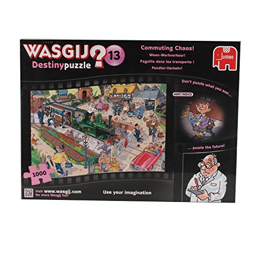 Wasgij 1000 Piece Destiny 13 Commuting Chaos Jigsaw Puzzle