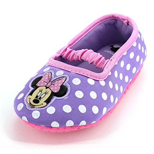 ff6e473c3bc Minnie Mouse Purple Ballet Flat Slippers for Toddler Girls S 5-6 - Buy  Online in Oman.