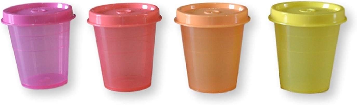 Tupperware Midgets Dip Container, 55Ml, Set Of 4