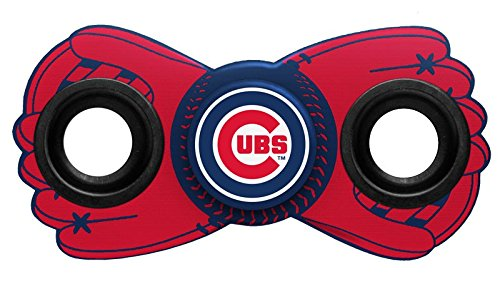 Mlb Diztracto Fidget Spinnerz   2 Way  Chicago Cubs  One Size