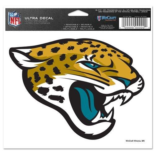 NFL Jacksonville Jaguars Ultra Color Decal, 5