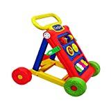 Toyshine My First Step Baby Activity Walker Red - Toddler Learning Toys For 1-1.5 Year Old