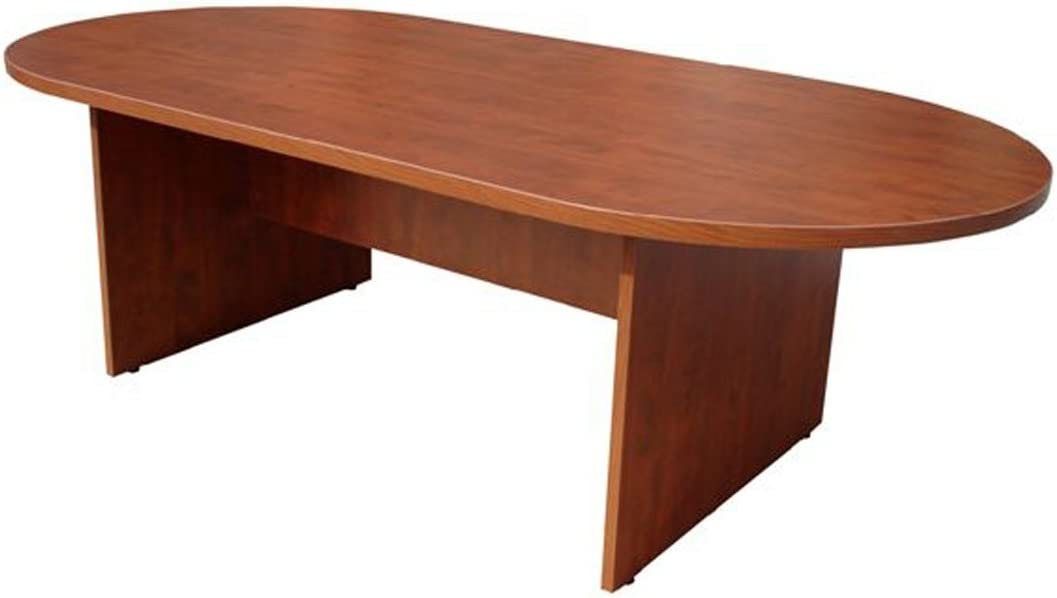 Boss 71 by 35-Inch Conference Table, Cherry