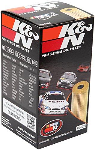 K&N PS-7022 filtro de aceite