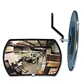 See All RR1218 160 degree Convex Security Mirror 18w x 12'' h