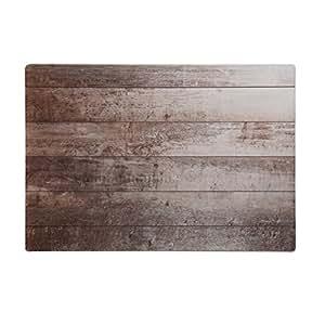 """NessHome Neoprene Non-Slip Multi Purpose Desk Pad, 25""""x17"""" (Wood)"""