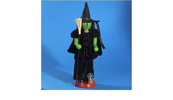Amazon Com Kurt S Adler Wizard Of Oz Wicked Witch Nutcracker Furniture Decor