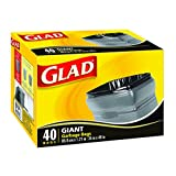 Glad Giant Garbage Bags, 40 ct.