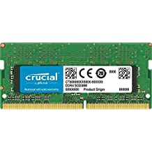 Crucial 16GB Single DDR4 2133 MT/s (PC4-17000) SODIMM 260-Pin Memory - CT16G4SFD8213