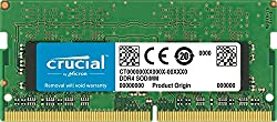 Crucial 16gb Single Ddr4 2400 Mts (Pc4-19200) Dr X8 Sodimm 260-pin For Mac - Ct16g4s24am