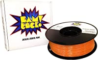 BAMtack! 1.75mm Orange PLA 3D Printer Filament - 1kg (2.2 lbs) +/- 0.03mm Accuracy from BAMtack!