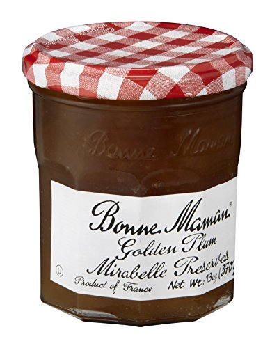 Bonne Maman Mirabelle Plum Preserve, 13 Ounce (Pack of 6) (Golden Plum)