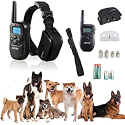 GREAT WAY TO TRAIN YOUR DOG TO STOP BAD HABITS - ELECTRIC SHOCK & VIBRA REMOTE TRAINING COLLAR OUR PRODUCT IS VERY SAFE FOR YOUR DOG