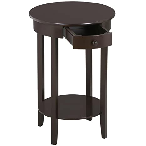 Small Round End Table 9