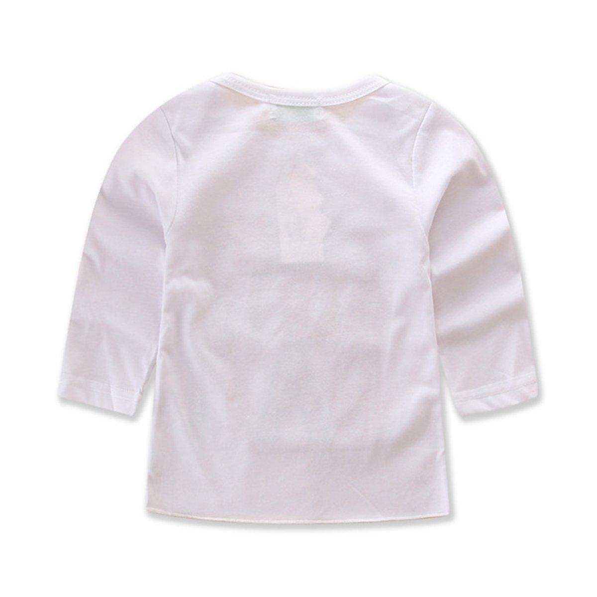 Amazon 1 6T Toddler Baby Girls Birthday Outfit Set Shirt Rainbow Tutu Skirt Clothing